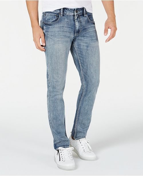 INC International Concepts INC Men's Gerald Skinny Jeans, Created for Macy's