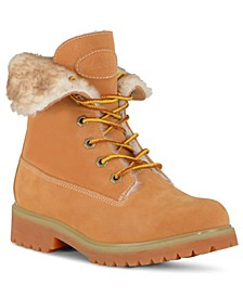 Women's Convoy Fold Fur Boot