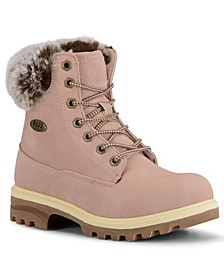 Women's Empire Hi Fur Classic Memory Foam Chukka Fashion Boot