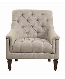 Coaster Home Furnishings Avonlea Upholstered Chair with Heavy Tufting