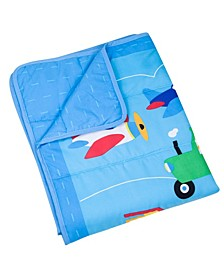 Baby Trains, Planes, Trucks 3 Pc Bed in A Bag