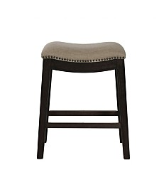"""Picket House Furnishings Miles 24"""" Counter Height Stool"""