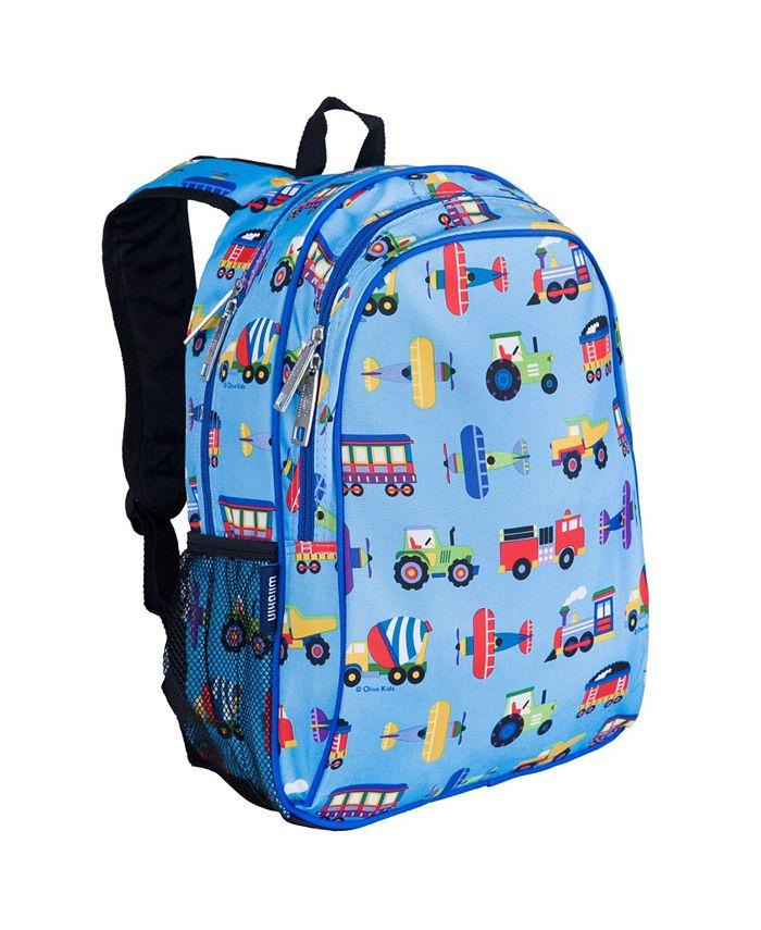 Wildkin - Trains, Planes & Trucks 15 Inch Backpack