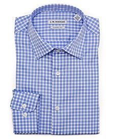 JM Premium Performance Classic Fit Check Dress Shirt