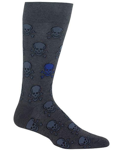 Hot Sox Men's Skulls Socks