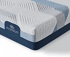 i-Comfort by Serta BLUE 100CT 9.75'' Gentle Firm Mattress- California King
