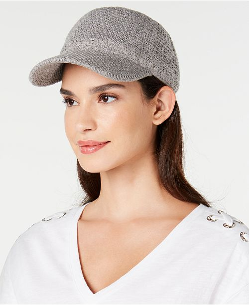 fbb8b86a5 I.N.C. Packable Baseball Cap With Fleece Lining, Created for Macy's