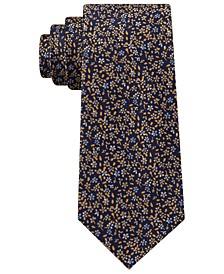 Men's Classic Floral Silk Tie