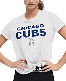 Women's Chicago Cubs Players Tie T-shirt
