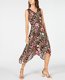 INC Handkerchief-Hem Midi Dress, Created for Macy's