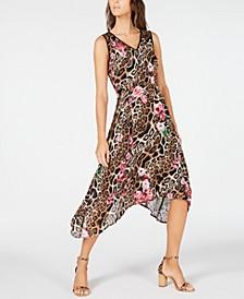 INC Handkerchief-Hem Midi Dress, Created for Macy's