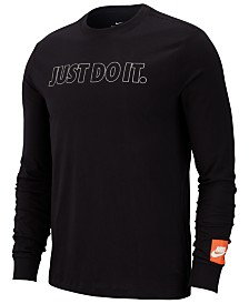 Nike Men's Just Do It Long-Sleeve T-Shirt