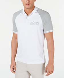 Michael Kors Men's Performance Sport Raglan Polo Shirt