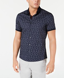 Michael Kors Men's Slim-Fit Stretch Brody Shirt