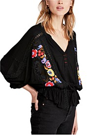 Serafina Embroidered Top
