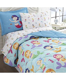 Wildkin's Mermaids Sheet Set - Twin