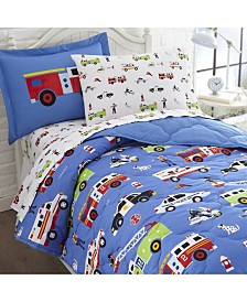Wildkin's Heroes Sheet Set - Twin