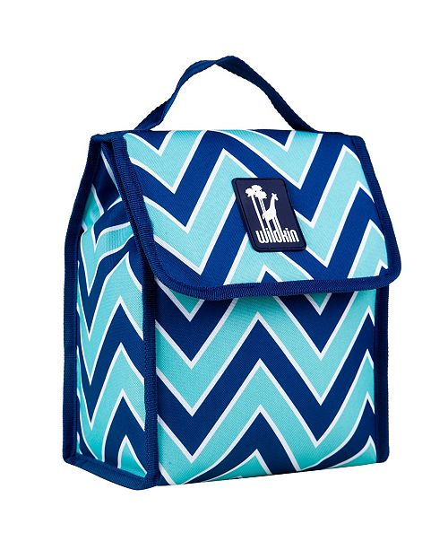Zigzag Lucite Lunch Bag