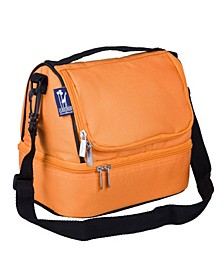 Bengal Orange Two Compartment Lunch Bag