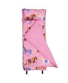 Horses Microfiber Nap Mat