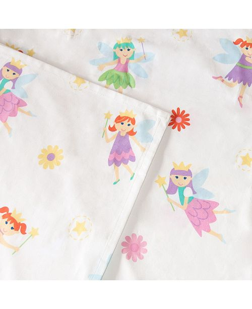 Wildkin Fairy Princess Twin Sheet