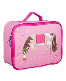 Horse Embroidered Lunch Box