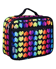 Wildkin Rainbow Hearts Lunch Box