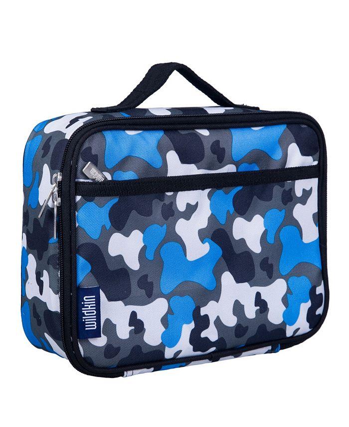 Wildkin - Blue Camo Lunch Box