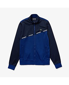 Lacoste Logo Taped Full Zip Jacket