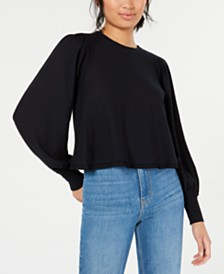 Free People Billie Cropped Contrast T-Shirt