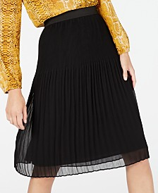 I.N.C. Petite Pleated Skirt, Created for Macy's