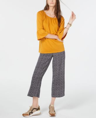 Tangier Cropped Ankle Pants, Regular & Petite Sizes