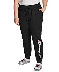 Plus Size Powerblend Ribbed Joggers