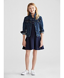 Big Girls Denim Jacket & Dress