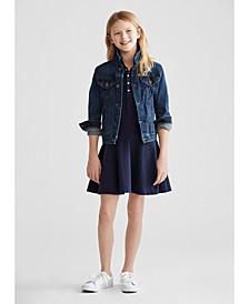 Big Girls Denim Jacket & Dress