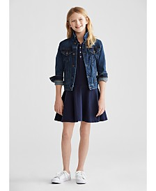 Polo Ralph Lauren Big Girls Denim Jacket & Dress
