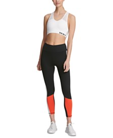 DKNY Sport High-Rise Colorblocked Leggings