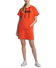 DKNY Sport Logo Hoodie Dress