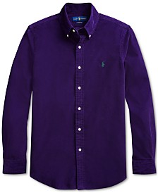 Polo Ralph Lauren Men's Classic Fit Corduroy Sport Shirt
