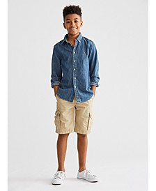 Big Boys Sport Shirt & Shorts