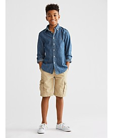Polo Ralph Lauren Big Boys Sport Shirt & Shorts