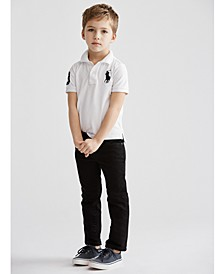 Toddler Boys Polo Shirt & Hampton Straight-Fit Jeans