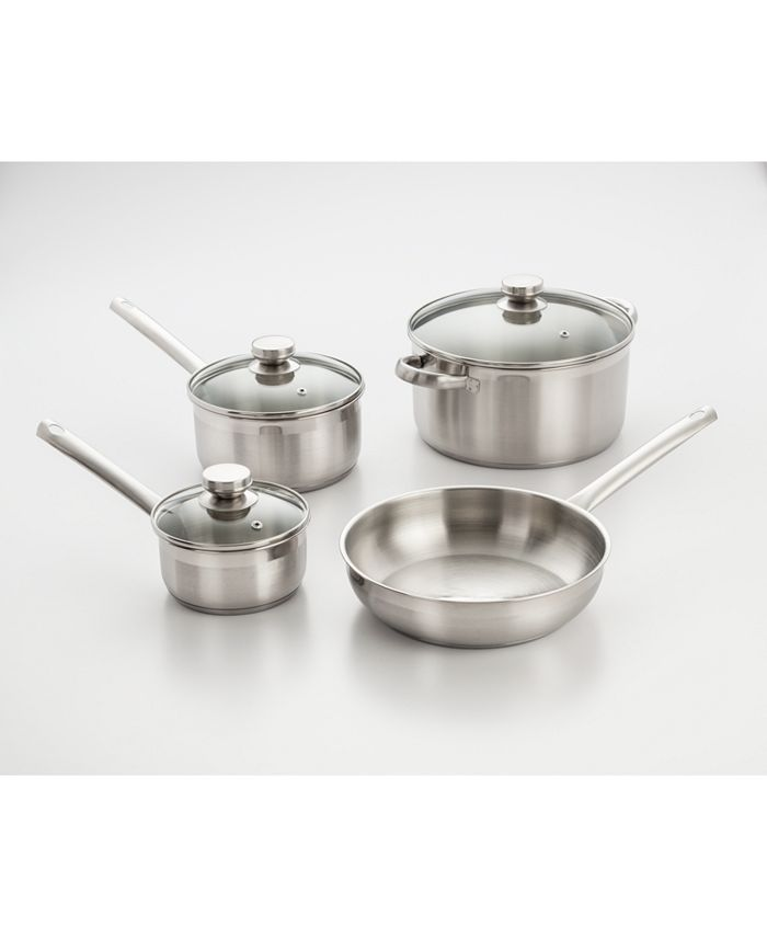 Cook Pro - 7 Pc Cookware Set W/ Encapsulated Base