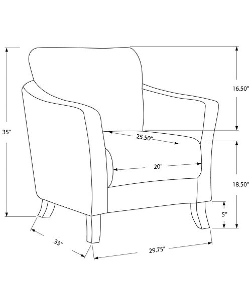 Admirable Linen Accent Chair Inzonedesignstudio Interior Chair Design Inzonedesignstudiocom