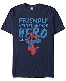Men's Spider-Man Homecoming Friendly Neighborhood Hero Short Sleeve T-Shirt
