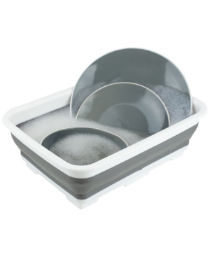Hds Trading Collapsible Silicone and Plastic Multi-Purpose Storage Washing Basin