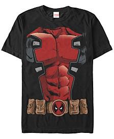 Marvel Men's Deadpool Chest Costume Short Sleeve T-Shirt