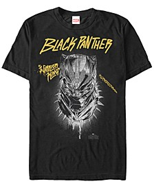 Men's Black Panther Warrior King and Protector Short Sleeve T-Shirt