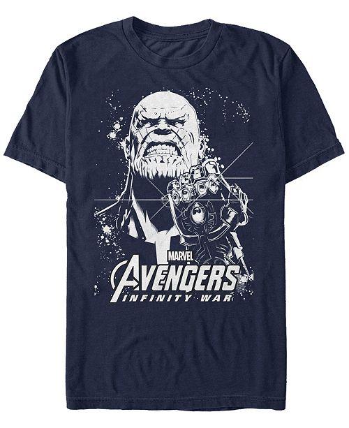 Marvel Men's Avengers Infinity War Thanos Ultimate Force Short Sleeve T-Shirt