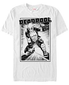 Marvel Men's Deadpool Samurai Stance Short Sleeve T-Shirt